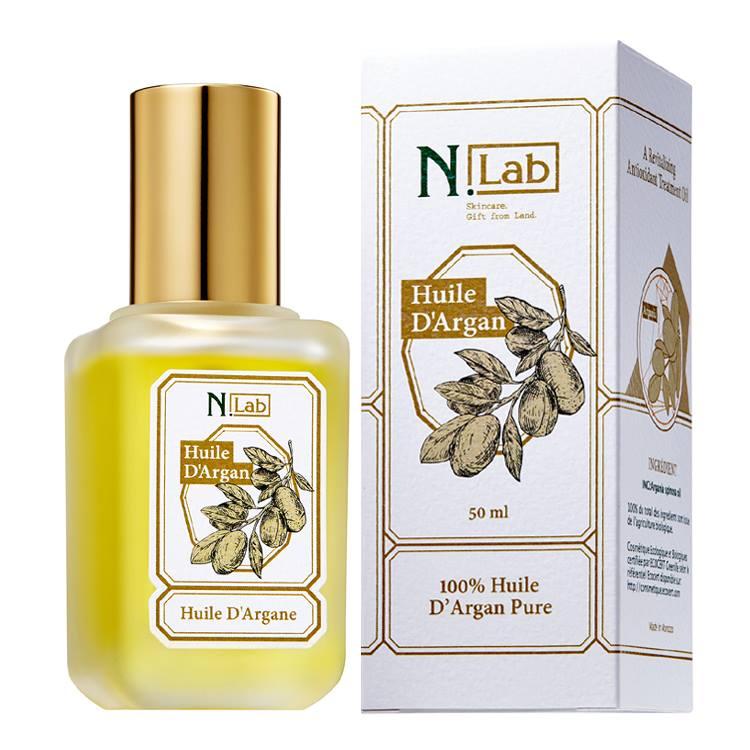 N.lab 100% Pure Argan Oil 50ml Set