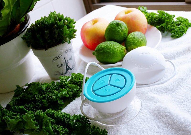 蔬活球 農藥檢驗 『蔬活球』Fluid Scanner檢測農藥殘留、蔬果安心吃、綠拿鐵安心喝