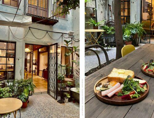 來了,就住一晚、台南住宿老宅公寓文青旅館、綠意中庭花園好意境