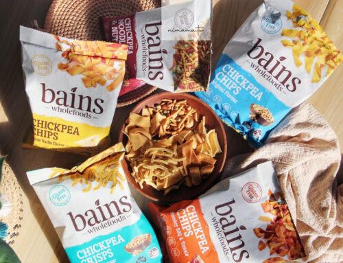 澳洲年銷逼近百萬包Bains Wholefoods鷹嘴豆零食、非油炸取代洋芋片推薦給飲食控制、健身族群